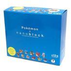 nanoblock ナノブロック ミニポケットモンスターシリーズ02  NBMPM_02S BOX(12個入り) 全12種類