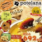 プリン カタラーナ 〜濃厚焼プリンアイス〜 ポテラーナワッカナイ 2個セット