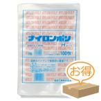 巾260×長さ350mm福助工業 ナイロンポリ Hタイプ規格袋 No.18B (1000枚)