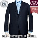 秋冬 メンズ スーツ Jプレス トラッド 新1型 3つボタン NEW AUTHENTIC MODEL  濃紺無地