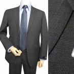 春夏秋 メンズ スーツ J.PRESS Jプレス 2つボタン チャコールグレー CUBA BEACH 0216
