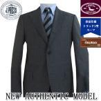 春夏 CUBA BEACH生地 メンズ スーツ Jプレス トラッド 新1型 段返り3つボタン NEW AUTHENTIC MODEL  チャコールグレー無地 004