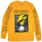 BAD BRAINS Capitol ロングスリーブ Tシャツ YELLOW
