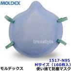 ショッピングN95 モルデックス医療用使い捨て式防塵マスク 1517-N95 Mサイズ (160枚入) PM2.5/防じん/作業/工事/医療用/粉塵/MOLDEX
