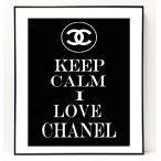 パロディ ポップ アート キャンバス アート パネル フレーム ポスター インテリア 壁 ウォールステッカー Chanel シャネル Canvas Pop Art CANVAS-0001