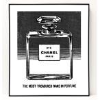 パロディ ポップ アート キャンバス アート パネル フレーム ポスター インテリア 壁 ウォールステッカー Chanel シャネル Canvas Pop Art CANVAS-0003