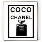 パロディ ポップ アート キャンバス アート パネル フレーム ポスター インテリア 壁 ウォールステッカー Chanel シャネル Canvas Pop Art CANVAS-0005