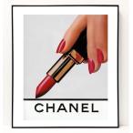 パロディ ポップ アート キャンバス アート パネル フレーム ポスター インテリア 壁 ウォールステッカー Chanel シャネル Canvas Pop Art CANVAS-0008
