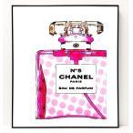 パロディ ポップ アート キャンバス アート パネル フレーム ポスター インテリア 壁 ウォールステッカー Chanel シャネル Canvas Pop Art CANVAS-0010