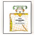パロディ ポップ アート キャンバス アート パネル フレーム ポスター インテリア 壁 ウォールステッカー Chanel シャネル Canvas Pop Art CANVAS-0011