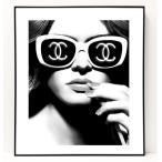 パロディ ポップ アート キャンバス アート パネル フレーム ポスター インテリア 壁 ウォールステッカー Chanel シャネル Canvas Pop Art CANVAS-0021