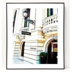 パロディ ポップ アート キャンバス アート パネル フレーム ポスター インテリア 壁 ウォールステッカー Chanel シャネル Canvas Pop Art CANVAS-0022