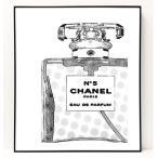 パロディ ポップ アート キャンバス アート パネル フレーム ポスター インテリア 壁 ウォールステッカー Chanel シャネル Canvas Pop Art CANVAS-0034
