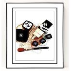 パロディ ポップ アート キャンバス アート パネル フレーム ポスター インテリア 壁 ウォールステッカー Chanel シャネル Canvas Pop Art CANVAS-0040