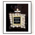 パロディ ポップ アート キャンバス アート パネル フレーム ポスター インテリア 壁 ウォールステッカー Chanel シャネル Canvas Pop Art CANVAS-0063