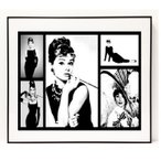パロディ ポップ アート キャンバス アート パネル フレーム ポスター インテリア 壁 Audrey Hepburn オードリーヘップバーン Canvas Pop Art CANVAS-ah-0001