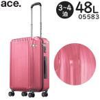 ace.TOKYO LABEL パリセイドZ (48L) ファスナースーツケース 3〜4泊用 手荷物預け入れ無料規定内サイズ Palisades-Z 05583