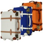 アウトレット トランクケース アンティーク おしゃれ かわいい レトロ 小型 Sサイズ キャリーケース スーツケース B-AE-39301