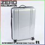 """ゼロハリバートン ZRL ポリカーボネイト 28"""" Lightweight Spinner Travel Case 81L ZTL28 Silver 80584 ZRL POLYCARBONATEスーツケース  ZERO HALLIBURTON"""