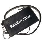 BALENCIAGA バレンシアガ メンズカードケース/コインケース CASH CA CASE ON KEYR / 594548 1IZI3 ブラック /2020秋冬新作
