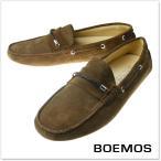 BOEMOS ボエモス メンズレザーデッキシューズ E7-3128 / VIVEL ブラウン