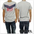 DIESEL ディーゼル メンズクルーネックTシャツ T-DIEGO-GO / 00SS3N 0091B グレー