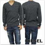 ショッピングdiesel DIESEL ディーゼル メンズVネックセーター K-BENTI / 00SGBS 00WDE チャコールグレー