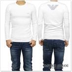 EMPORIO ARMANI UNDERWEAR エンポリオアルマーニアンダーウェア メンズロングTシャツ 111023 6A725 ホワイト