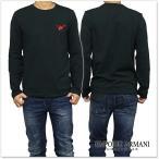 EMPORIO ARMANI UNDERWEAR エンポリオアルマーニアンダーウェア メンズロングTシャツ 111653 6A595 ブラック