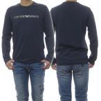 EMPORIO ARMANI UNDERWEAR エンポリオアルマーニアンダーウェア メンズクルーネックロングTシャツ 111653 0A595 ネイビー