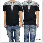 MARCELO BURLON マルセロバーロン メンズクルーネックTシャツ SALVADOR / CMAA018S17001035 ブラック /2017春夏新作