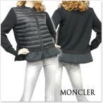 ショッピングmoncler MONCLER モンクレール レディースニット×フリルダウンカーディガン 94772-00-98143 ブラック