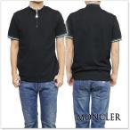 MONCLER モンクレール メンズポロシャツ 83004-00-84556 ブラック