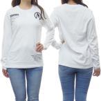 MONCLER モンクレール レディースクルーネックロングTシャツ T-SHIRT GIROCOLLO M/ / 8D704-10-8390T ホワイト /2020秋冬新作