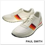 PAUL SMITH ポールスミス メンズスニーカー SWANSON / SPRD S124 MSH オフホワイト