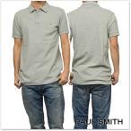 PAUL SMITH JEANS ポールスミスジーンズ メンズポロシャツ JPFJ 534L ZEBRA グレー