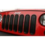 ジープJKラングラー JKラングラー アンリミテッド 送料無料 ラギッドリッジ ビレットグリルインサート フロントグリルトリム ブラック
