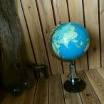 ≫50-60'sヴィンテージ*大阪 奥村越山堂アルコ*古い地球儀*真鍮メタル*古地図グローブ飾りディスプレイ*ビンテージ昭和レトロ*アンティーク