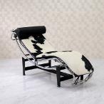 LC4 シェーズロング ポニースキン ル・コルビジェ ブラック×ホワイト ソファ ソファー sofa