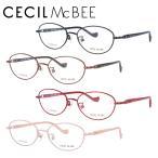 メガネフレーム ブランド 丸型 おしゃれ かわいい PC眼鏡 伊達メガネ セシルマクビー CECIL McBEE CMF 3039 全4カラー 51