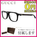 グッチ メガネ 伊達 眼鏡 フレーム GUCCI GG3736J 807 55 ブラック ウェリントン メンズ レディース 国内正規品