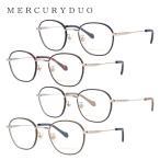 マーキュリーデュオ メガネフレーム かわいい ブランド レディース 女性 MERCURYDUO MDF6030 全4カラー 47