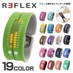 リフレックス 腕時計 REFLEX PD0019 LED デジタル ウォッチ Digital Watch シリコン クォーツ ユニセックス メンズ レディース