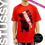 ステューシー STUSSY Tシャツ 半袖 プリント 1902843 Stand Firm Dino Tee RED スチューシー