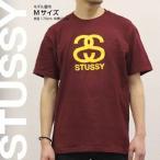 ステューシー STUSSY Tシャツ 半袖 プリント 1902842 SS Stussy Wine/Gold スチューシー
