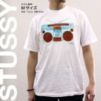 ステューシー STUSSY Tシャツ 半袖 プリント 1902822 KG Boombox White 7 Red スチューシー