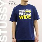 ステューシー STUSSY Tシャツ 半袖 プリント 1902826 King Worldwide Indigo/Yellow スチューシー