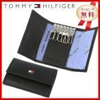 訳あり アウトレット トミーヒルフィガー TOMMY HILFIGER キーケース メンズ 男性 ブラック 黒 6キーホック 31TL17X002-001 0094-4510 01