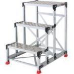 トラスコ アルミ合金製作業台 縞鋼板 336-5158  TSFC4612