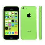 ¥8000【中古】≪その他≫携帯電話(スマートフォン/スマホ)Apple au iPhone 5c 16GB グリーン ME544J/A【0681473C】【tre070】